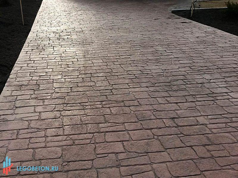 Штампованный бетон в москве чем отличается известковый от цементного раствора
