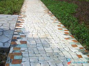Штампованный бетон гранит-3