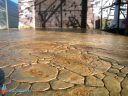 Печатный бетон садовый камень-3