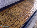 Штампованный бетон замковая брусчатка-3