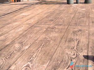 Печатный бетон палубная доска-3