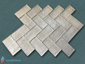 штамп для печатного бетона Клинкерная плитка купить в Москве