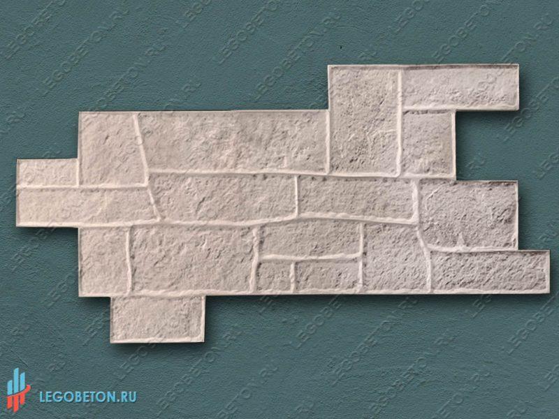 форма для штампованного бетона Греческая мостовая-1