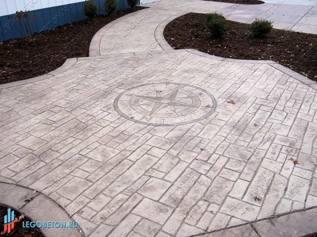 формы для печатного бетона в москве цены