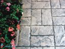 Штампованный бетон Двойная брусчатка-02