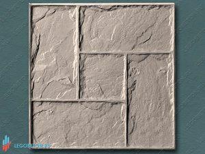 форма для штампованного бетона Леон (штамп) купить в Москве