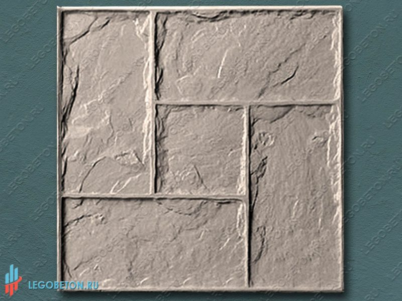 форма для штампованного бетона Леон (штамп)