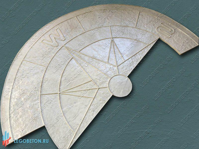 форма для штампованного роза ветров-01