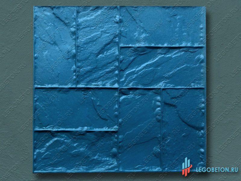 полиуретановый штамп для печатного бетона Двойная брусчатка профи