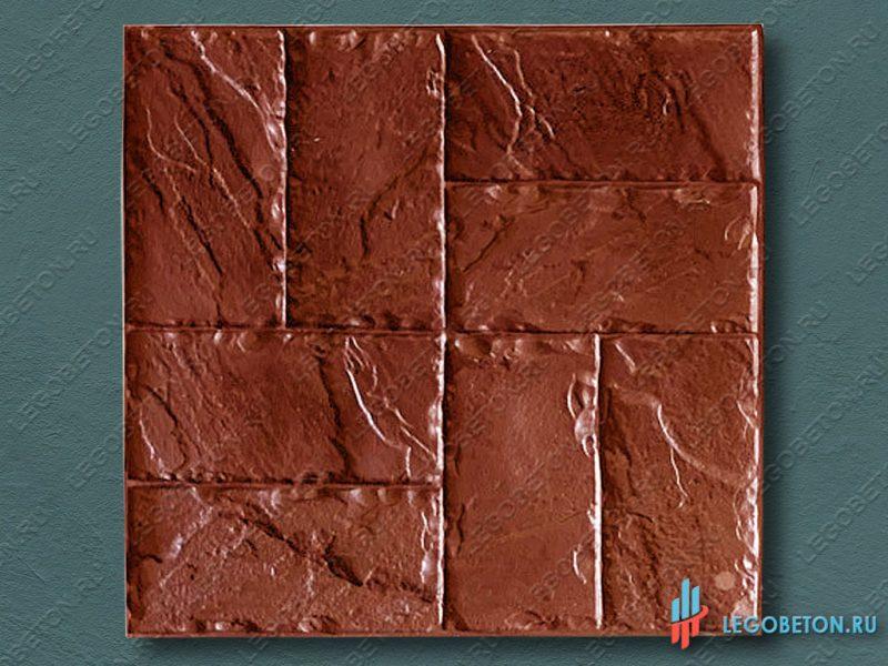 полиуретановый штамп для печатного бетона и штукатурки Двойная брусчатка стандарт