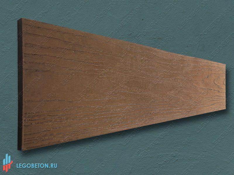 полиуретановый штамп Доска напольная (120х30) с низким профилем