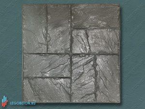 резиновый штамп для печатного бетона - двойная брускатка - f3140 купить в Москве