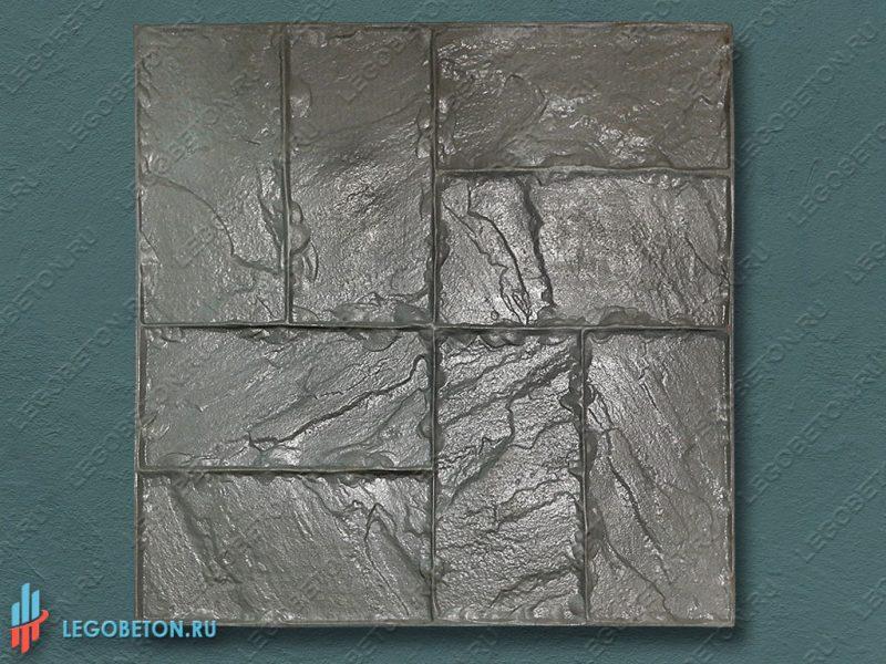 штамп для печатного бетона — двойная брускатка — f3140-1