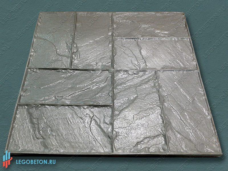 форма для штампованного бетона — двойная брускатка — f3140-2