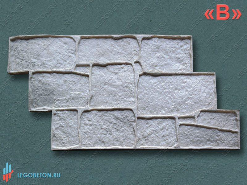 штамп для бетона — песчаник гальтованый — f3120-эконом