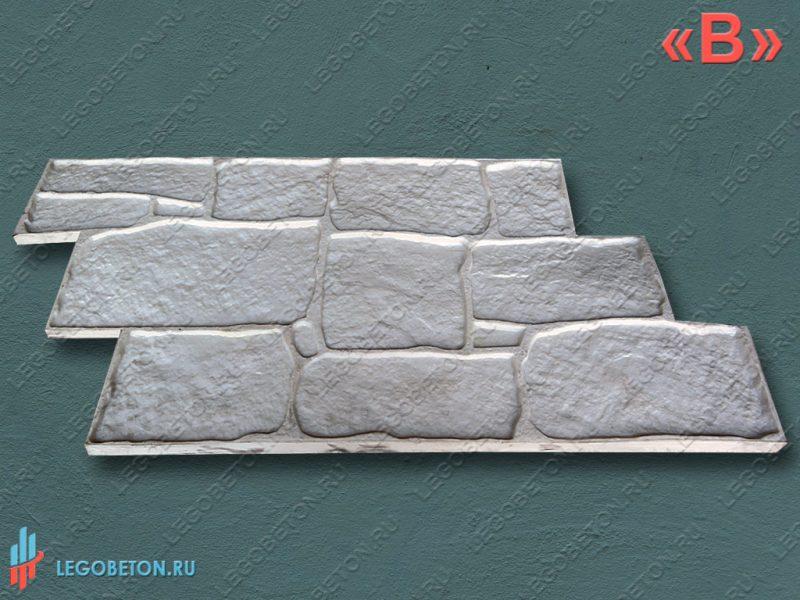штамп для печатного бетона песчаник гальтованый универсальный