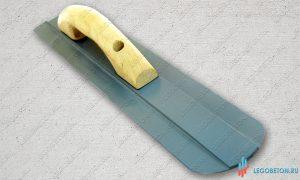 Гладилка для бетона ручная закругленная (520х80) купить в москве