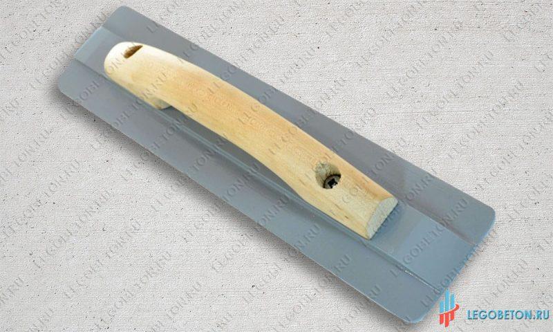 Гладилка для бетона ручная малая (350х80)