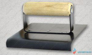 Кельма угловая (кромкогиб скругленный) для печатного бетона