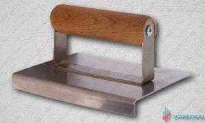 Кромкогиб прямой для печатного бетона купить в москве, кельма угловая