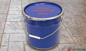 купить матовый упрочняющий лак для бетона и камня А-25 matt в Москве
