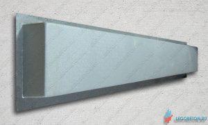 форма пластиковая основание (тетива) балясин балюстрады прямое-1