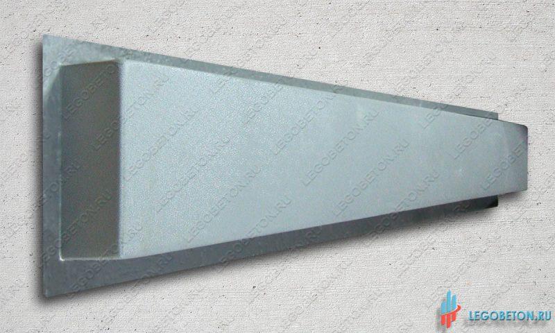 форма основание (тетива) балясин балюстрады прямое-1