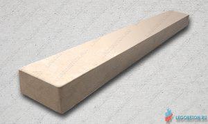 основание (тетива) балясин балюстрады из бетона прямое