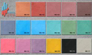 каталог-1 цветного закрепителя для печатного бетона Мастер штамп