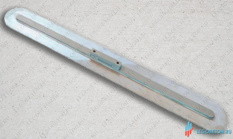 Гладилка стальная финишная для затирки закрепителя (топпинга)