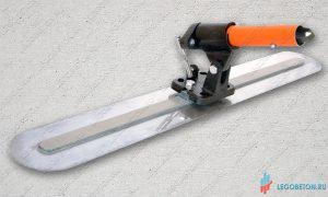 Гладилка стальная финишная с рычажным поворотным механизмом купить в москве