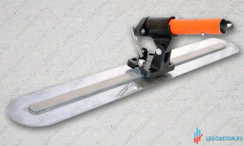 Гладилка стальная финишная с рычажным поворотным механизмом