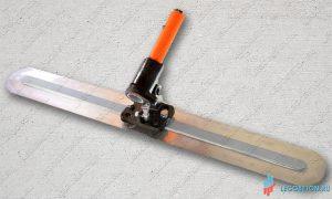 Гладилка финишная с поворотным механизмом