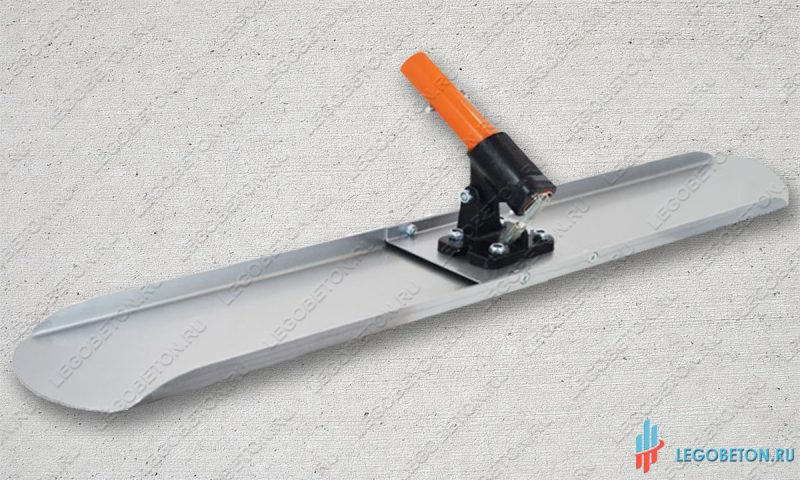 Терка для бетона стартовая с рычажным поворотным механизмом