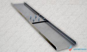Гладилка стартовая прямоугольная L-1200 (сменная лопасть) купить в москве
