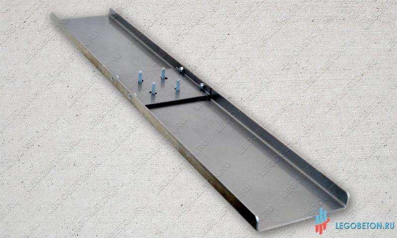 Гладилка стартовая прямоугольная L-1200 (лопасть)