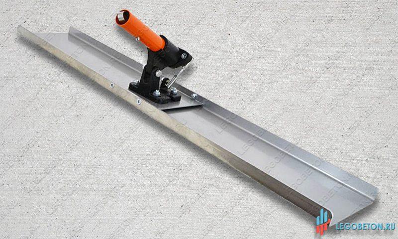 Гладилка стартовая прямоугольная в комплекте с поворотным механизмом-1