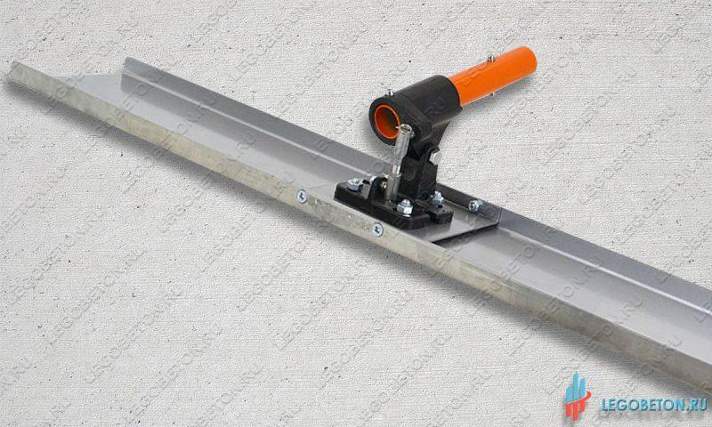 Гладилка стартовая прямоугольная в комплекте с поворотным механизмом-2