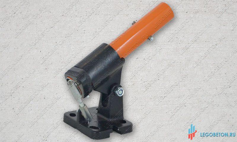 Рычажный поворотный механизм гладилки