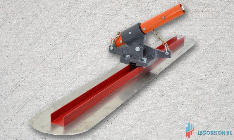 усиленная финишная гладилка в комплекте с цепным кронштейном
