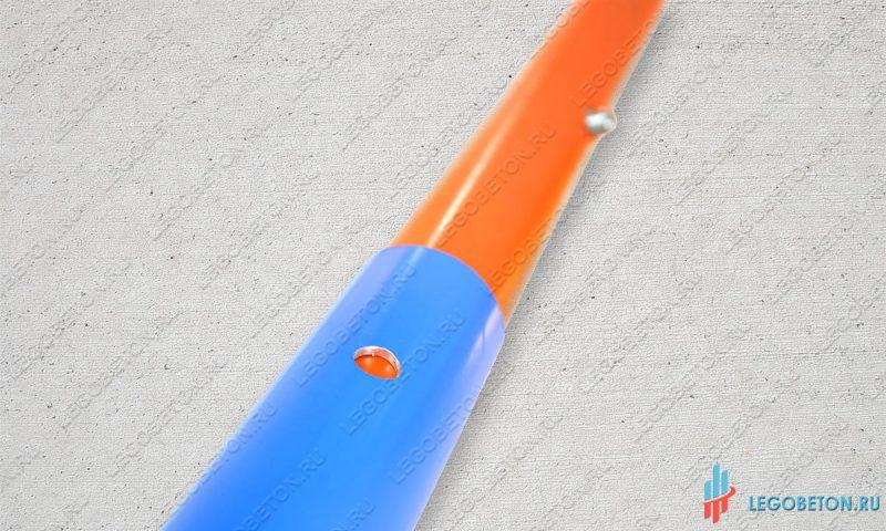 Ручка для гладилки бетона раздвижная