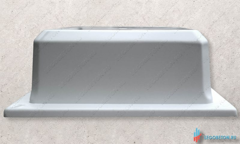 форма для изготовления из бетона основания столба балюстрады материал-УПП(премиум)