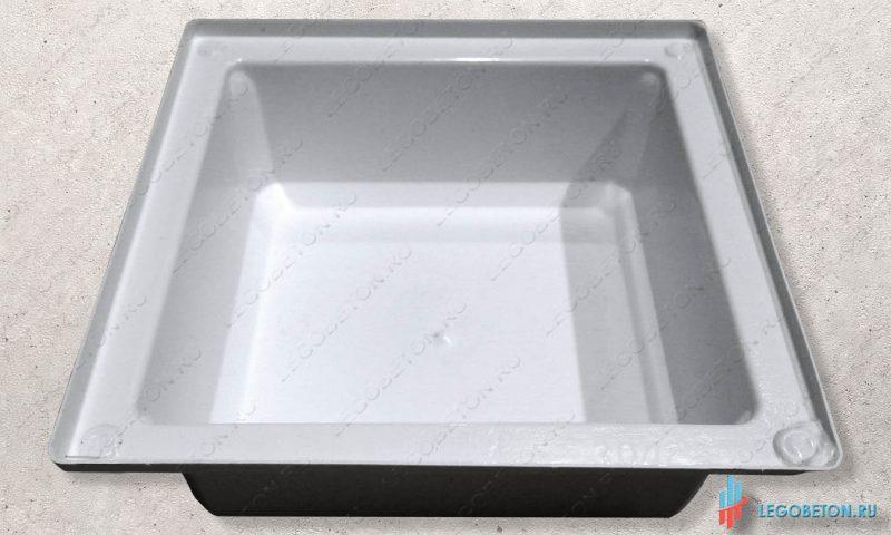 пластиковая форма основания столба балюстрады-УПП(3 мм) серия премиум
