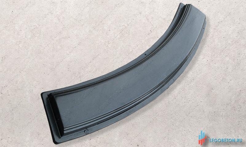 форма для изготовления из бетона перила балюстрады радиусные-АБС(2 мм)