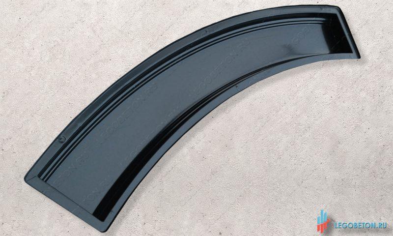 форма перила балюстрады радиусные материал-АБС(2 мм)
