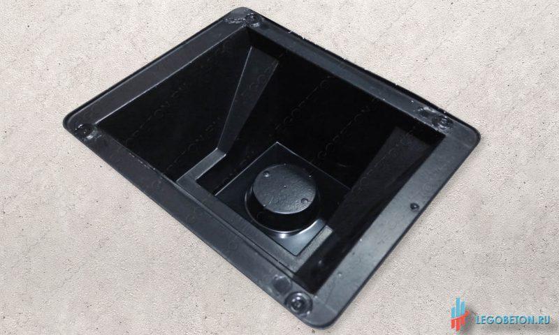 форма универсального стакана балясин балюстрады материал-АБС(премиум)