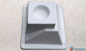 форма для отливки из бетона универсального стакана балясин-УПП(премиум) купить в москве