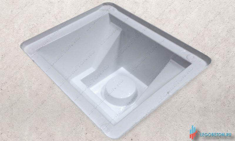 пластиковая форма универсального стакана балясин-УПП(3мм)