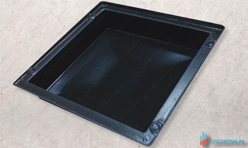 крышка для изготовления из бетона столба балюстрады материал-АБС(2мм)
