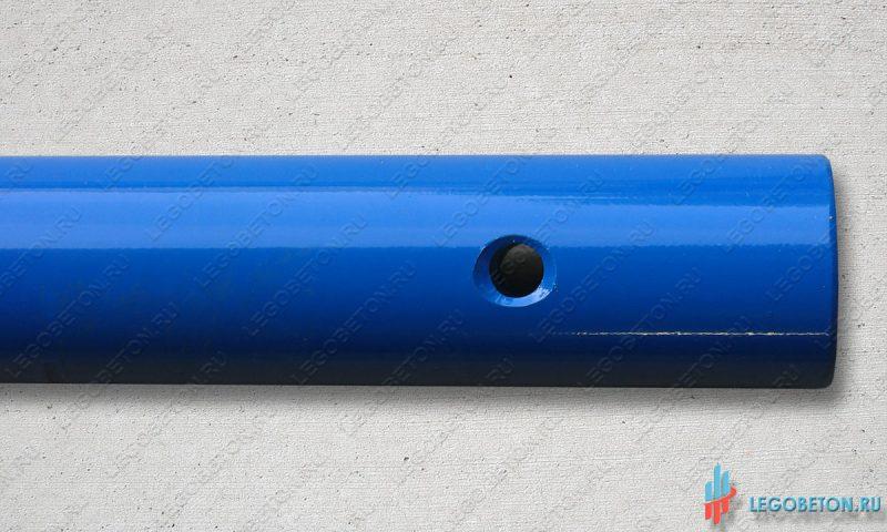 ручка гладилки стандартная (D45,L200) с отверстием для удлинителя